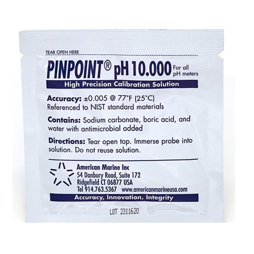American Marine PINPOINT pH Calibration Solution 10.0