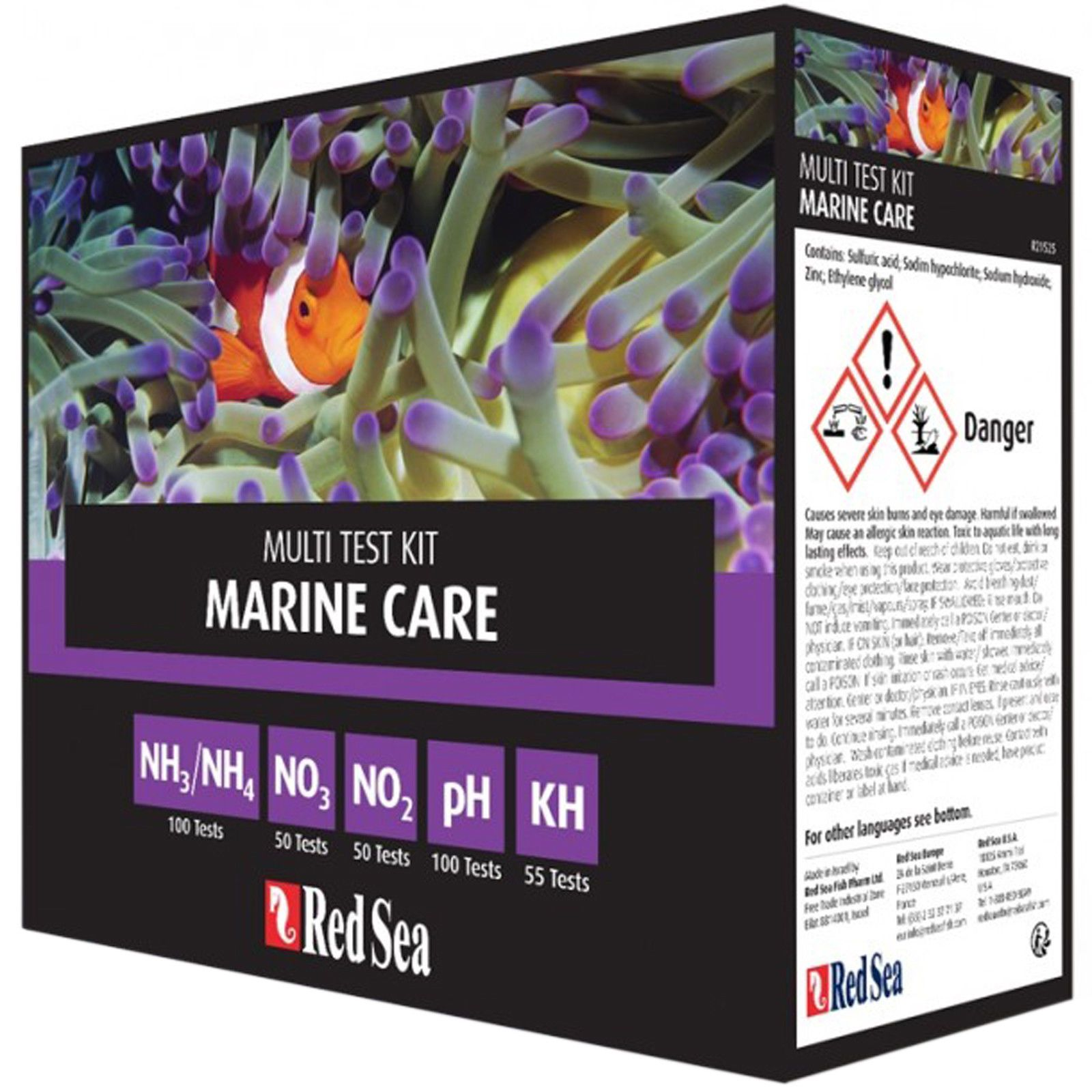Red Sea Marine Care Test Kit - Multi