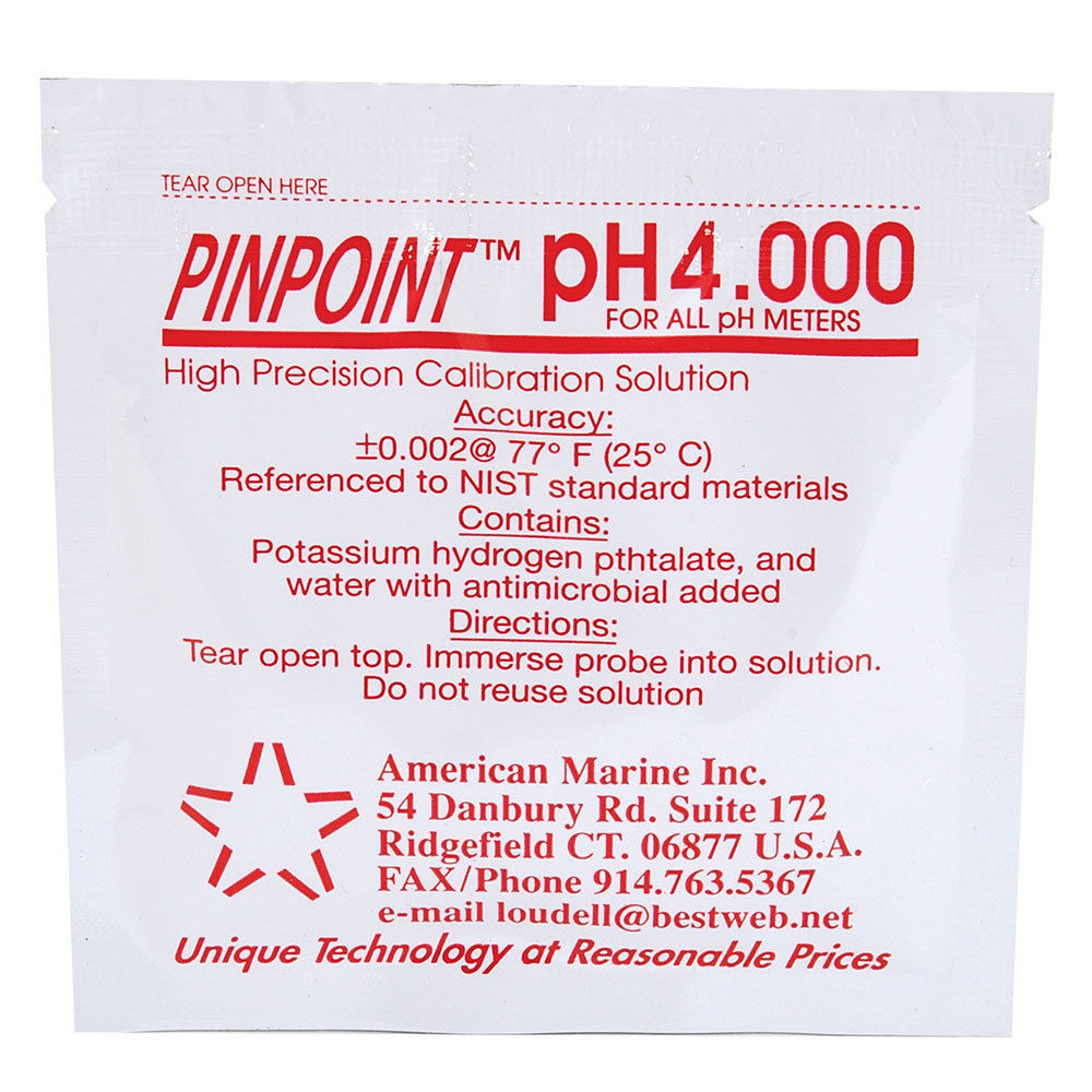 PINPOINT pH Calibration Solution 4.0