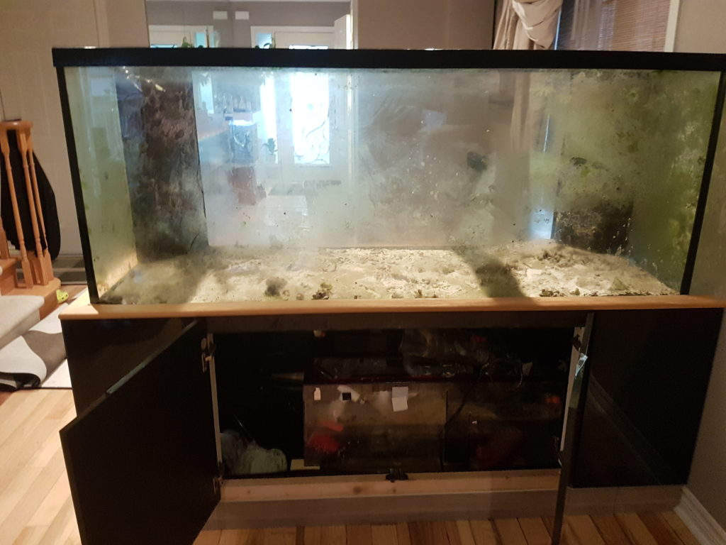 marineland 220 gallon leak
