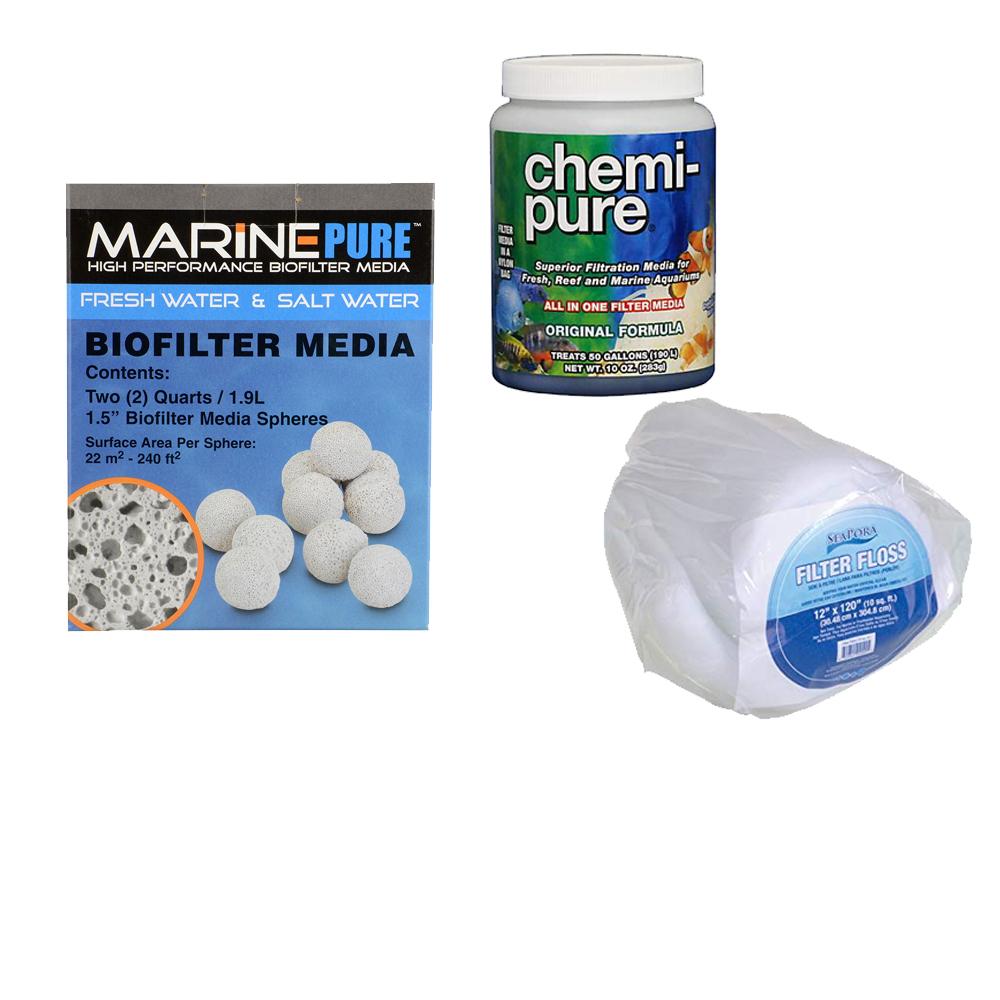 Filter Media and Reactors